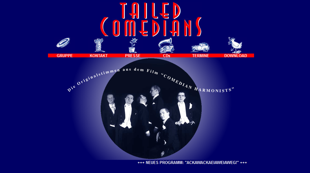 Tailed Comedians